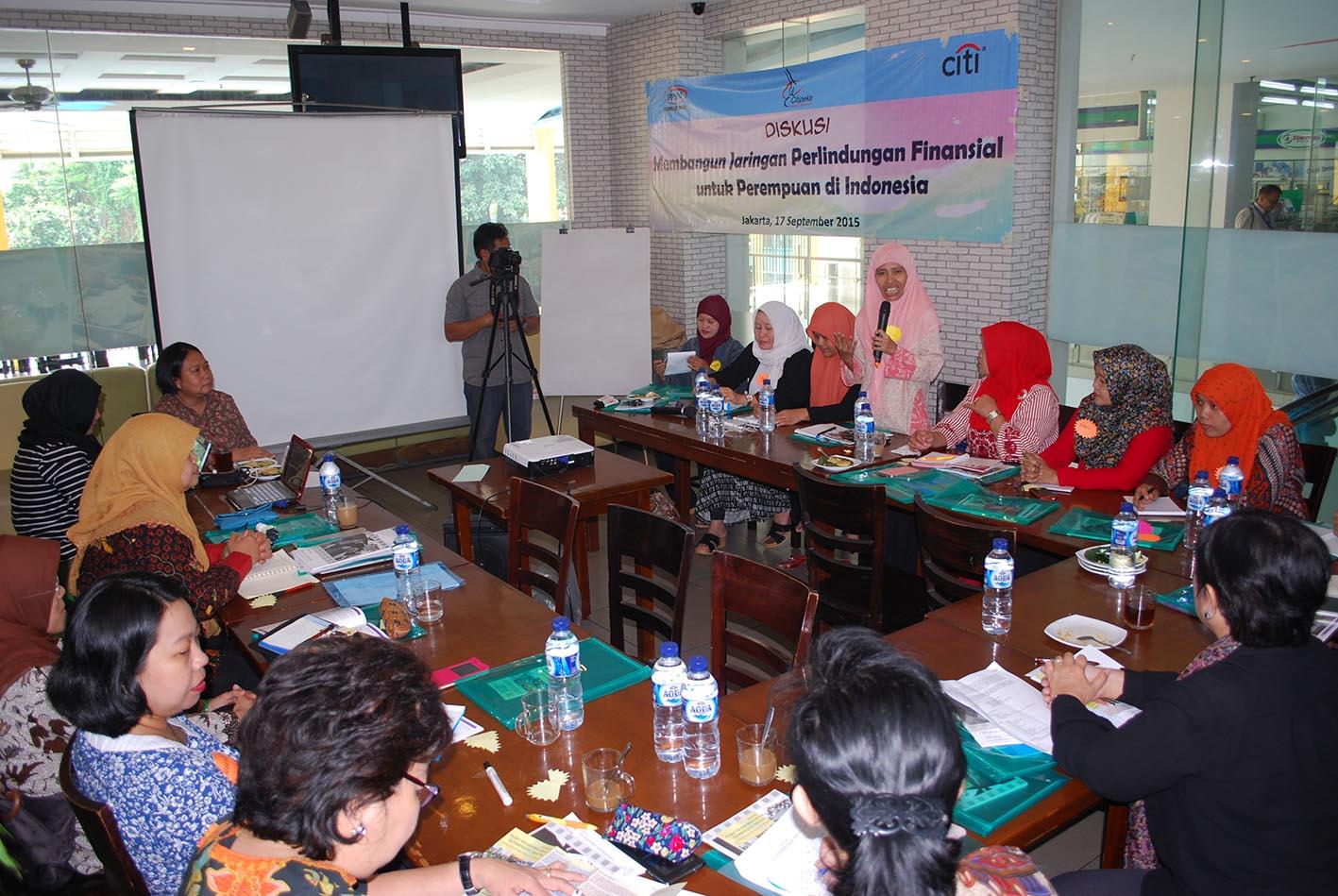 diskusi membangun jaringan finansial, asosiasi ppsw