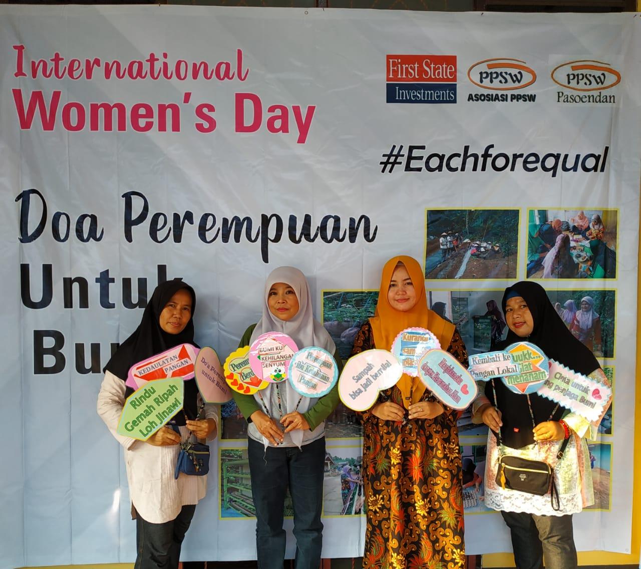 Festival Kedaulatan Pangan Banten dalam Rangka Hari Perempuan Internasional